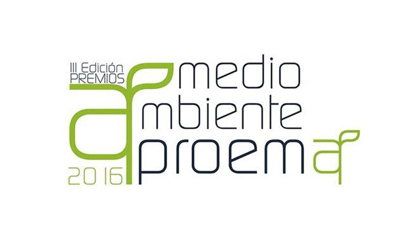"""Convocada la Tercera Edición de los Premios """"Medio Ambiente Aproema"""" 2016"""