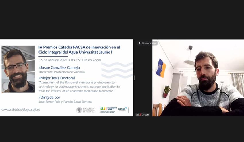 """Una tesis doctoral dirigida en el IIAMA, ganadora de la IV Edición de los """"Premios de la Cátedra FACSA"""""""