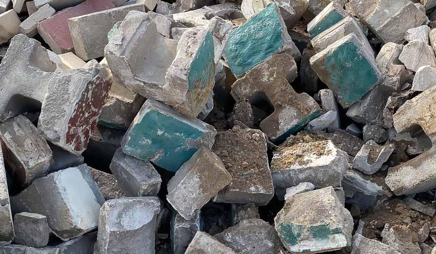 Andalucía implementa medidas para el reciclaje y circularidad de residuos de la construcción
