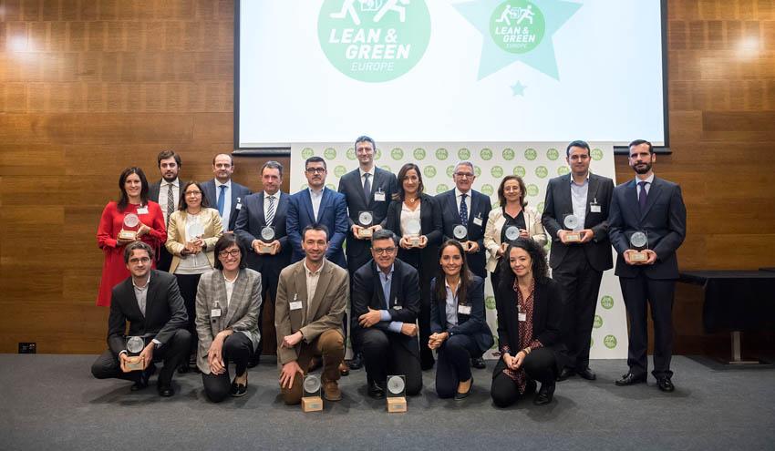 Seis empresas reciben la Estrella Lean&Green por reducir sus emisiones en la cadena de suministro