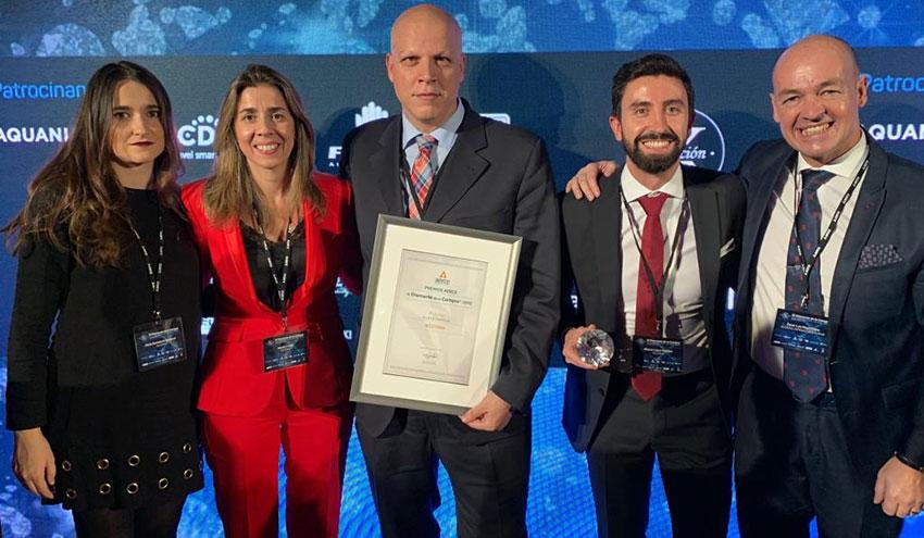 ACCIONA, ganadora del premio AERCE 'El Diamante de Compras 2019' en la categoría de Mejor Estrategia