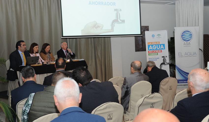 El sector andaluz del agua y la Junta de Andalucía presentan una campaña conjunta de consumo responsable
