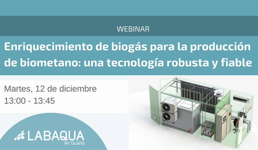 Enriquecimiento de biogás para la producción de biometano: una tecnología robusta y fiable