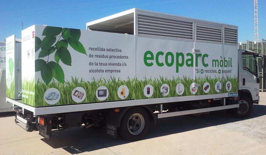 La red de Ecoparques de Castelló Nord se sitúa como la mejor de toda la comunidad