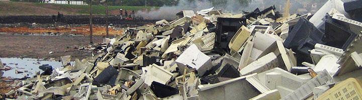 Recyclia aboga por endurecer el control y las sanciones para luchar contra el tráfico ilícito de residuos electrónicos