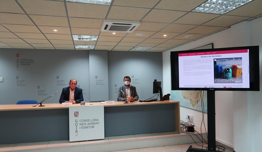 Baleares presenta el portal web de la Oficina de Prevención de Residuos
