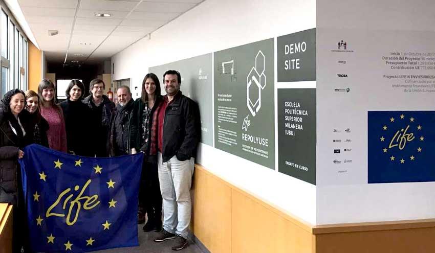 Life- Repolyuse, el proyecto europeo para obtener nuevos materiales de construcción más sostenibles
