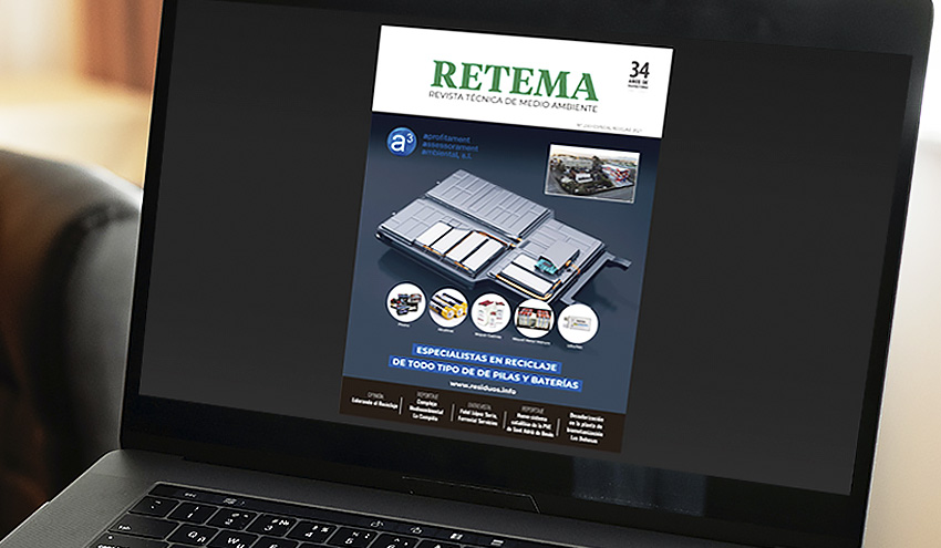 Ya disponible la edición digital de RETEMA 230 Especial Reciclaje 2021