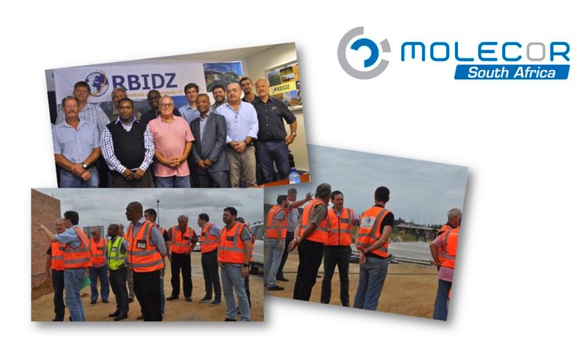 Molecor© comenzará este año la producción de sus tuberías de PVC-O en Sudáfrica