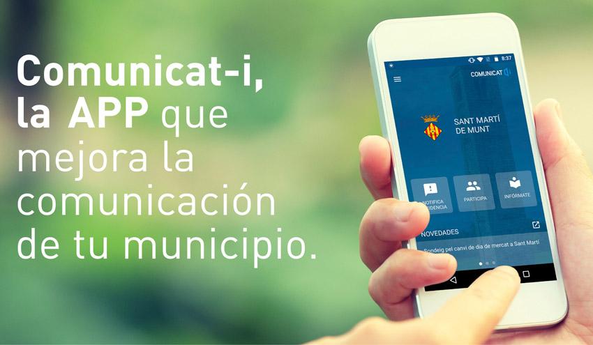 AGBAR lanza Comunicat-i, la nueva app de comunicación digital entre los ayuntamientos y la ciudadanía