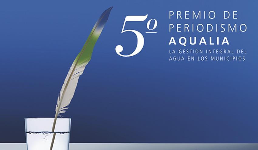 La quinta edición del Premio de Periodismo Aqualia bate récords de participación