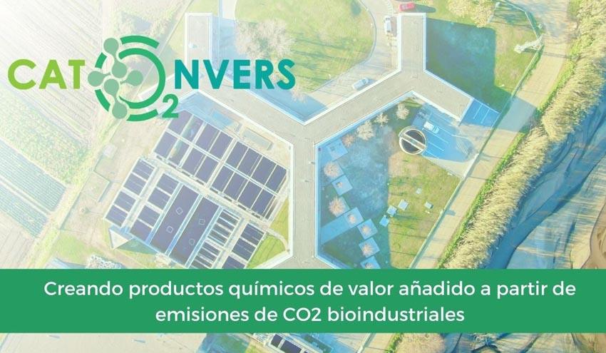CATCO2NVERS, un proyecto que busca reducir los GEI de las industrias de base biológica