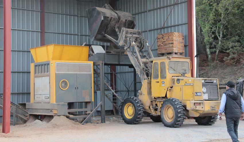 KEYLO confía de nuevo en UNTHA IBERICA para su operación de reciclaje de madera