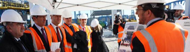 Las obras de ampliación de la planta de tratamiento de residuos de Cañada Hermosa en Murcia se encuentran a un 70% de ejecución