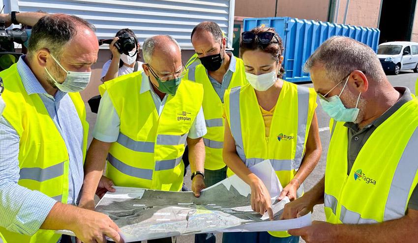 Arrancan las obras de la nueva celda de vertido del Complejo Ambiental El Revolcadero en La Gomera