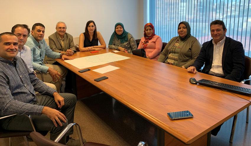 Una delegación de técnicos de Egipto visita la red de saneamiento de la ciudad de Valencia