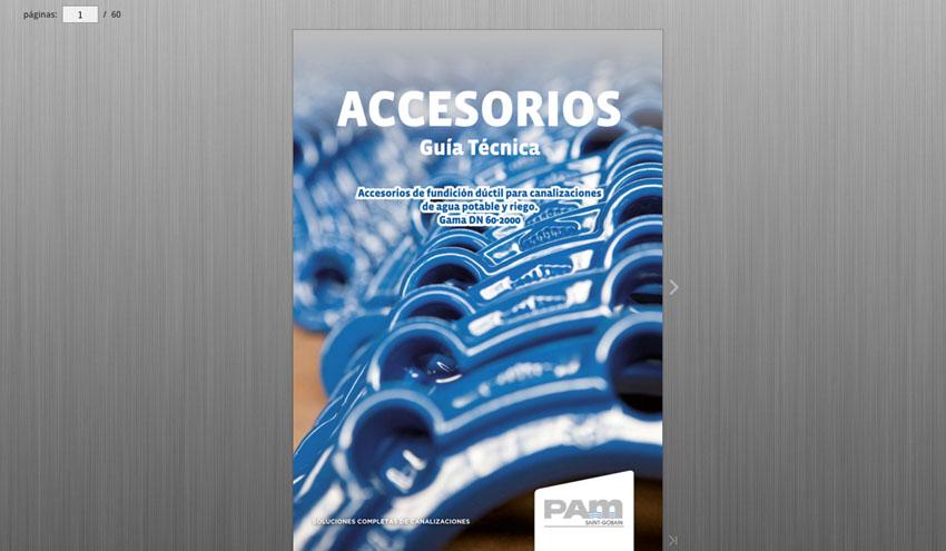 Nueva edición de la Guía Técnica de accesorios de fundición dúctil para canalizaciones de Saint-Gobain PAM