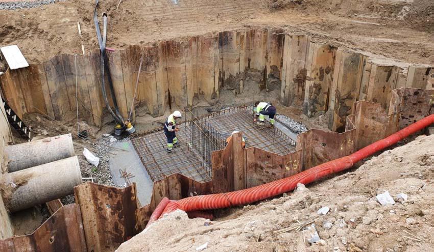 Las obras de reparación de la desalinizadora del Tordera estarán terminadas en junio