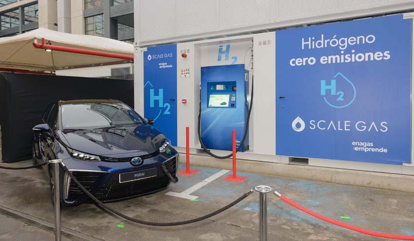 Inaugurada la primera estación de repostaje de hidrógeno en España