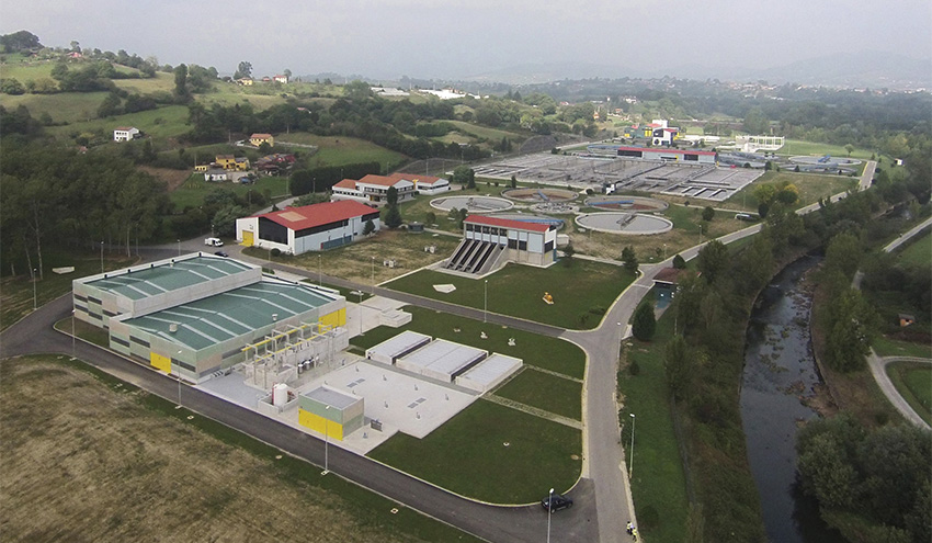 ACUAES adjudica el contrato para la explotación de la depuradora de Villaperez en Oviedo