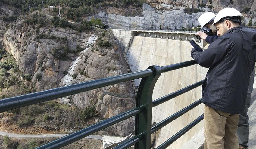 La Agencia Catalana del Agua licita el contrato de control y mantenimiento de sus presas