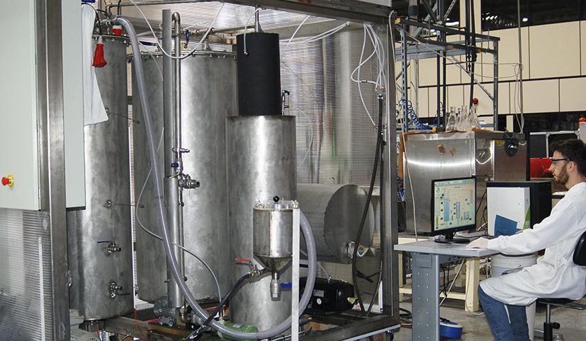 GAIKER incorpora una planta piloto para reciclaje químico