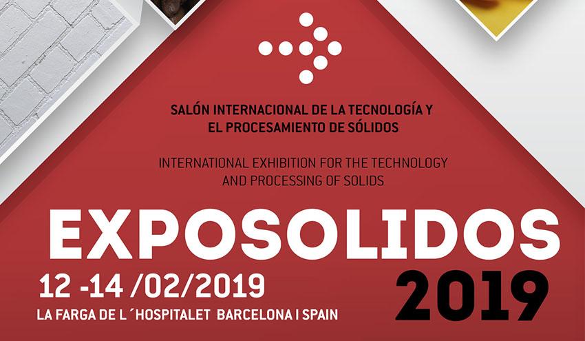 EXPOSOLIDOS celebrará su novena edición en febrero del 2019