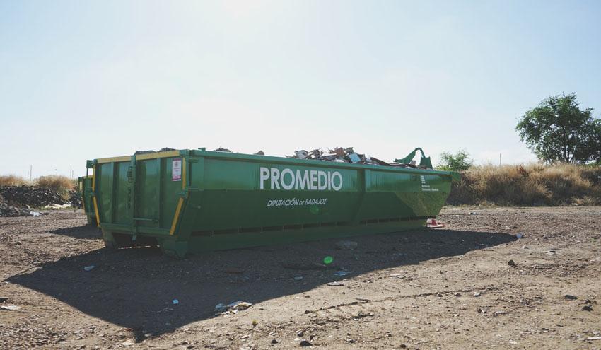 Promedio pone en marcha un nuevo servicio para facilitar el tratamiento de residuos de construcción