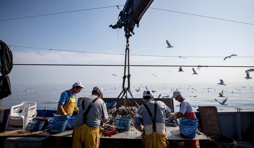 Los pescadores que participan en Upcycling the Oceans recuperaron más de 180 toneladas de basura