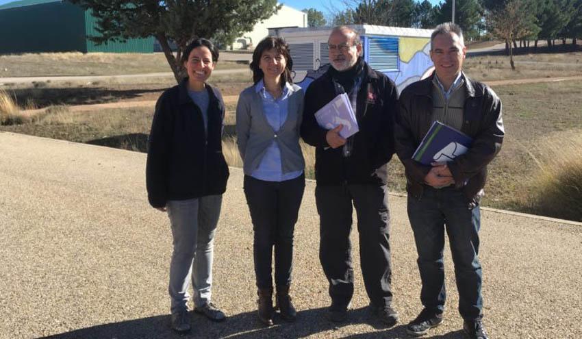 La Cátedra RECIPLASA de gestión de residuos urbanos promueve la colaboración con el CIEMAT
