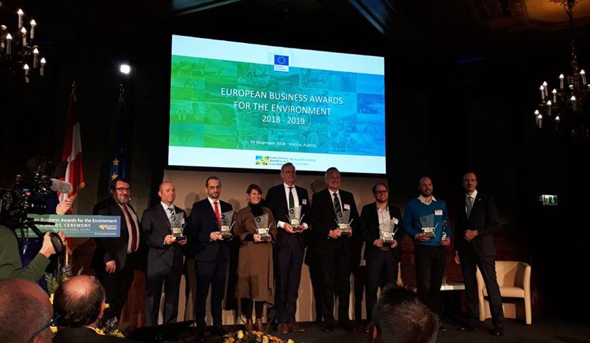 Dos empresas españolas, reconocidas como líderes en innovación ecológica