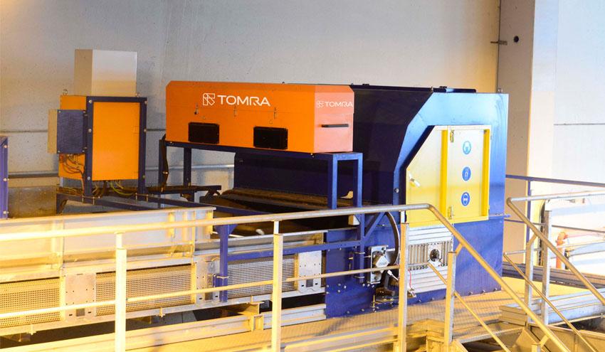 La Ecocentral de Granada mejora su eficiencia con los separadores ópticos de TOMRA Sorting Recycling