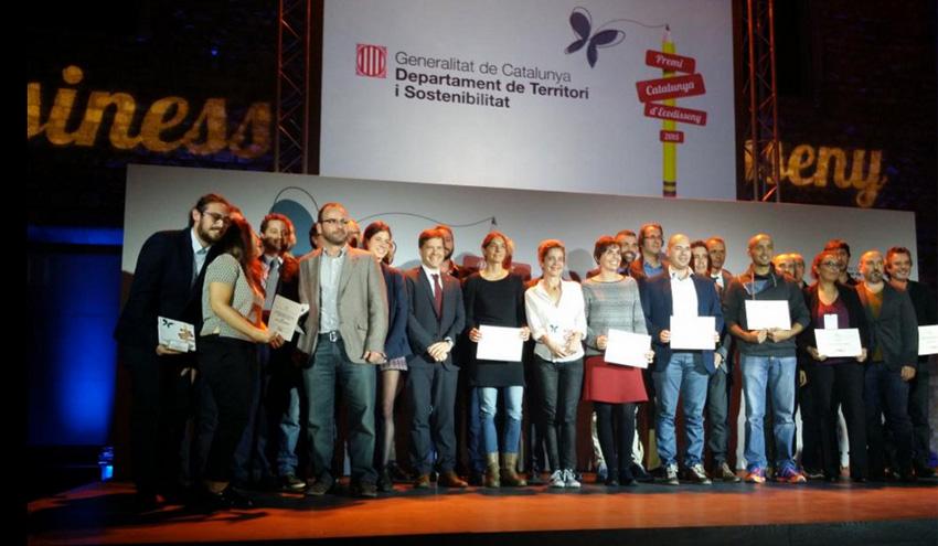 Entregados los primeros Premios Cataluña de Ecodiseño