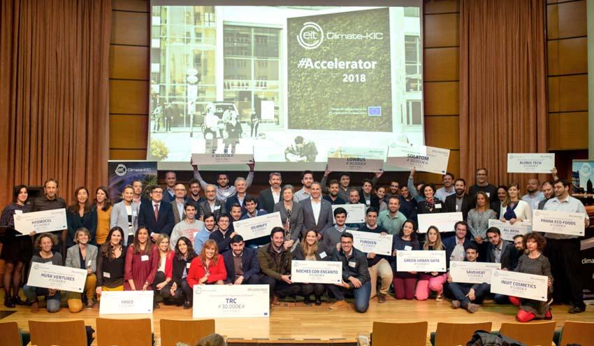 EIT Climate-KIC Accelerator selecciona 15 proyectos de start-ups sobre tecnologías limpias