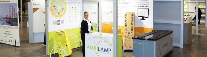 Ambilamp lleva el reciclaje de lámparas a las Ferias del Medioambiente y Energías-RSE