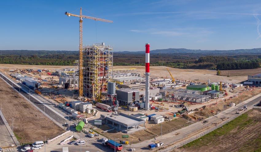 Greenalia completa el 80% de la construcción de la planta de biomasa de Curtis