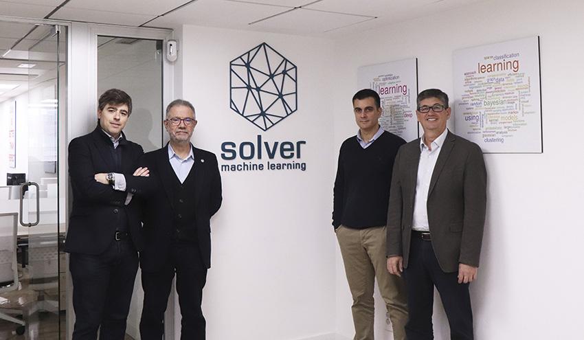Global Omnium (GO) invierte medio millón de euros en la startup SolverML