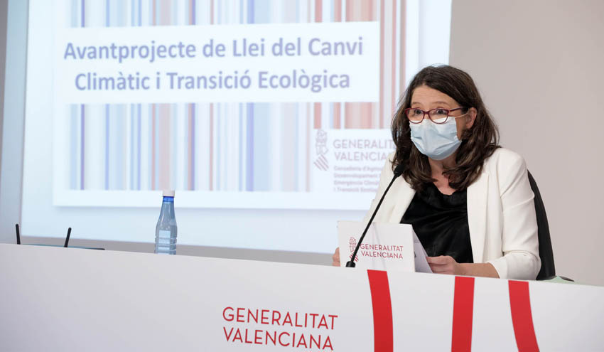El Consell de la GVA aprueba el anteproyecto de Ley de Cambio Climático