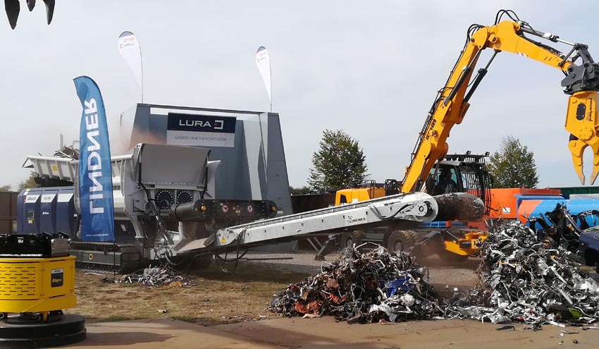 Lindner en RecyclingAKTIV 2019