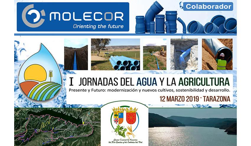 Molecor, colaborador en las I Jornadas del Agua y la Agricultura