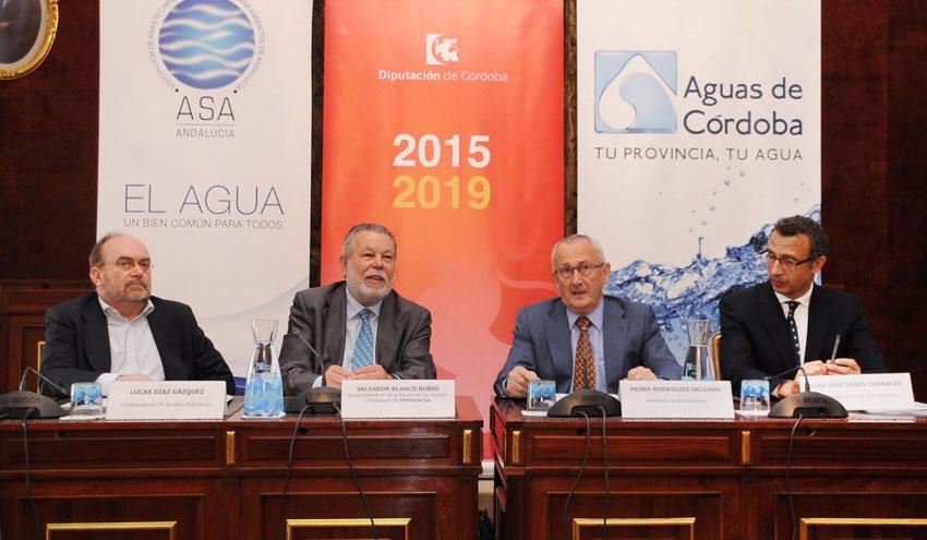 La Diputación de Córdoba acoge la reunión del Comité Ejecutivo de ASA Andalucía