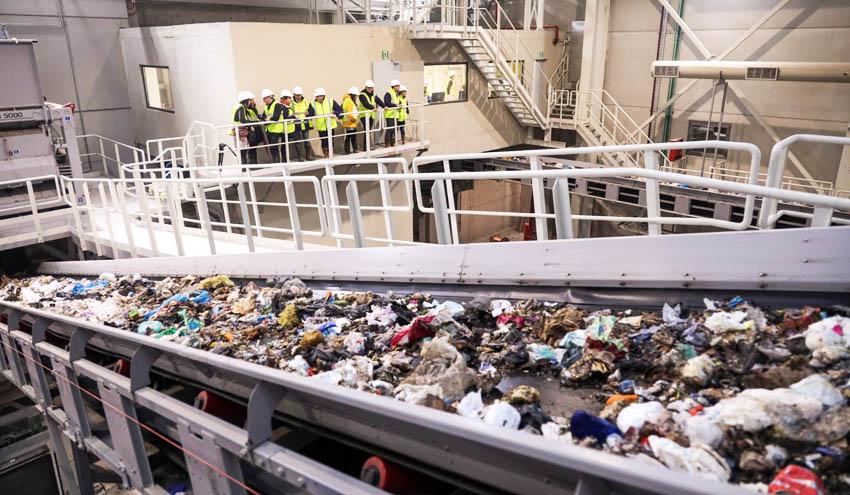 GHK garantiza que el tratamiento de residuos se realiza en Zubieta con total normalidad y plenas garantías