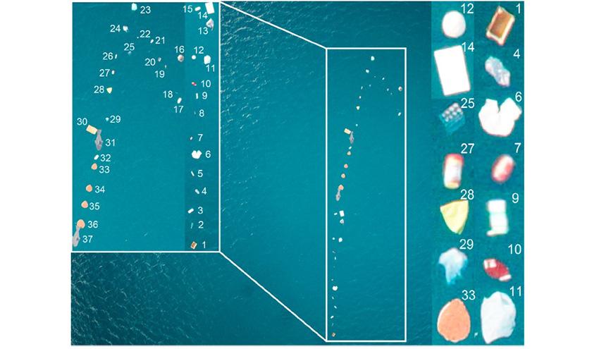 MARLIT, una aplicación basada en la inteligencia artificial para estudiar las macrodesechos marinas flotantes