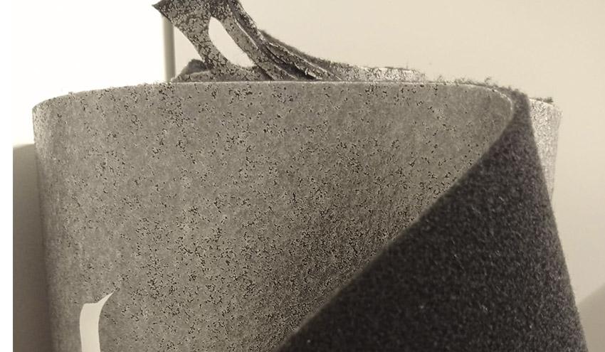 Desarrollan nuevos productos a partir de moquetas y de tejidos de revestimiento fuera de uso