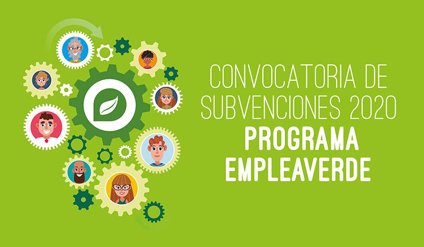 El MITECO lanza ayudas por 10,7 millones para la creación de empleo verde