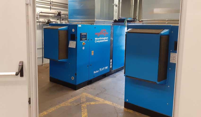 SEMESA instala un sistema de aire comprimido inteligente para aumentar la eficiencia energética del CTRM
