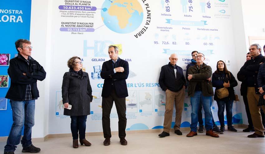 Global Omnium crea una exposición del agua en el nuevo Centro de Educación Ambiental de Quart de Poblet