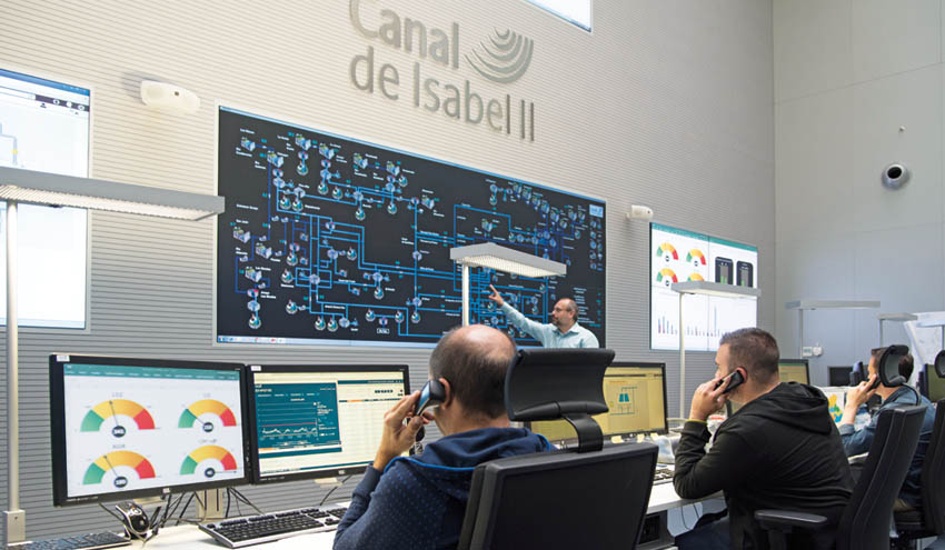 Los usuarios aumentan su valoración sobre el servicio prestado por Canal de Isabel II
