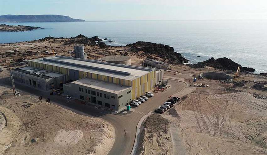 WEG suministra sus soluciones para una importante desaladora en la Región de Atacama en Chile