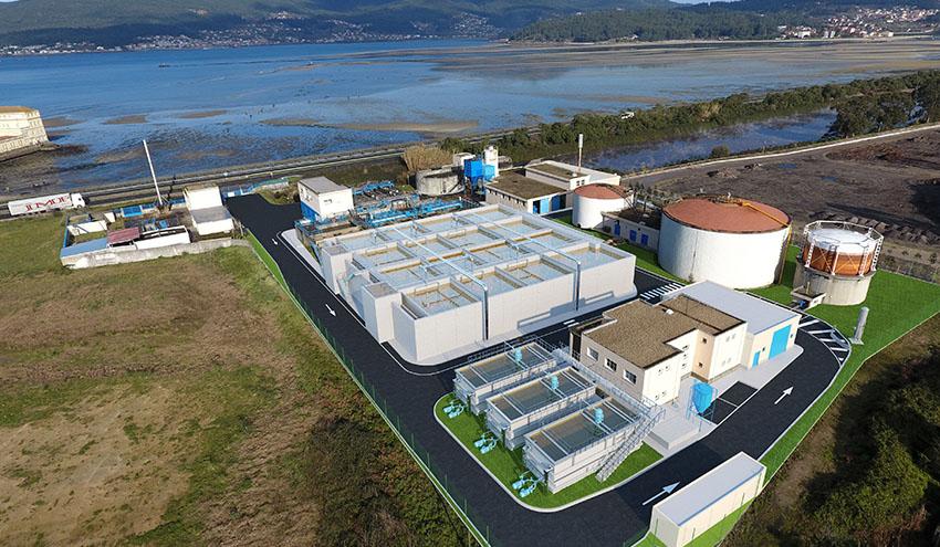 Las tecnologías de Veolia seleccionadas para mejorar la depuradora de Placeres en Pontevedra